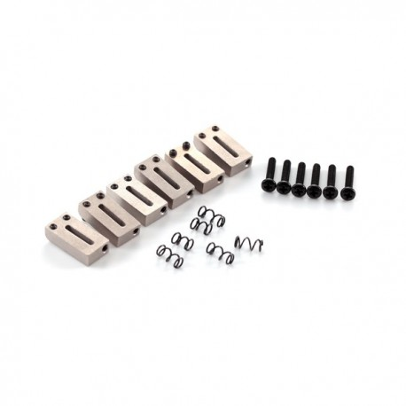 FENDER AM SRS STRAT BRIDGE SECTIONS