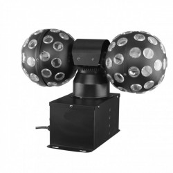 DOUBLE ROLLING BALLS 2 * 3W RGB