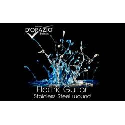 D'orazio X30, ELECTRIC GUITAR STAINLESS STEEL ROUND WOUND (08)