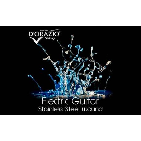 D'orazio X33, ELECTRIC GUITAR STAINLESS STEEL ROUND WOUND (10)