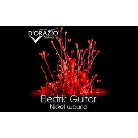 D'orazio 33, ELECTRIC GUITAR NICKEL ROUND WOUND (10)