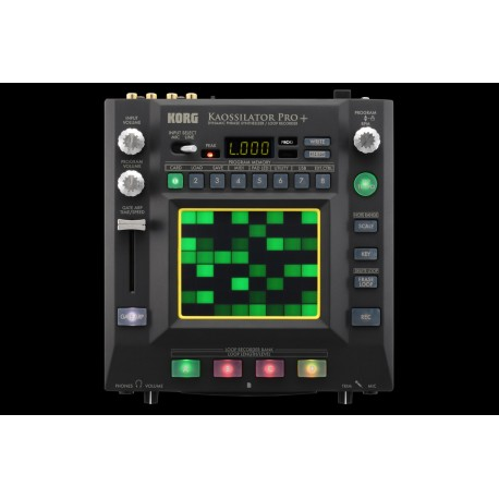 KORG - KAOSSILATOR PRO+ DYNAMIC PHRASE SYNTHESIZER /LOOP RECORDER