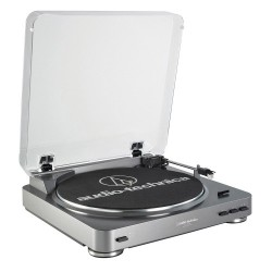 Audio Technica AT-LP60-USB automatinis stereo patefonas su USB
