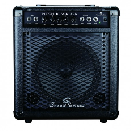 Soundstation pitch black-35b bass amp 35w