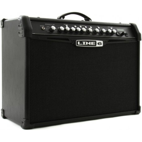 "Line 6 Spider IV 120 - Modeling 120W 2x10"" Guitar Combo Amp"