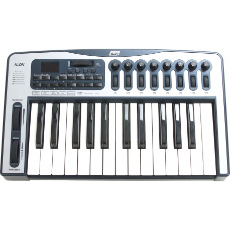 NeON 25-key USB Keyboard Controller with Audio