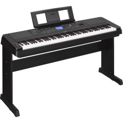 YAMAHA DGX-660B DIGITAL PIANO BLACK
