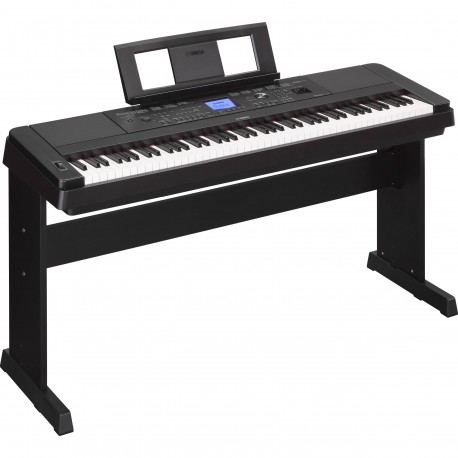 YAMAHA DGX-660B DIGITAL PIANO BLACK
