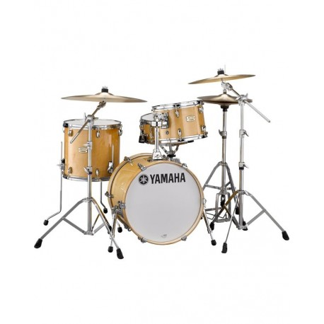 "Yamaha Stage Custom Bop Drum Kit - 3 pieces - 18"" Kick - Natural Wood"