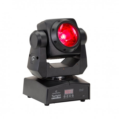 TWILIGHT 60 ENDLESS  60W RGBW 4in1 LED Moving Head with Infinite PAN/TILT Movement