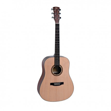 OLYMPIC-DN-NT  Dradnought acoustic guitar in open pore satin finish