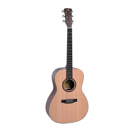 OLYMPIC-OOO-NT  acoustic guitar in open pore satin finish